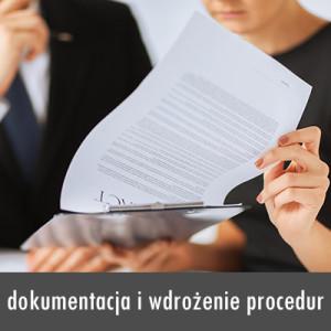 dokumentacj i wdrożenie procedur